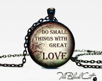 Christian Quotes pendant Inspirational necklace Sayings jewelry Quotes Phrases Christian (PQ0014)