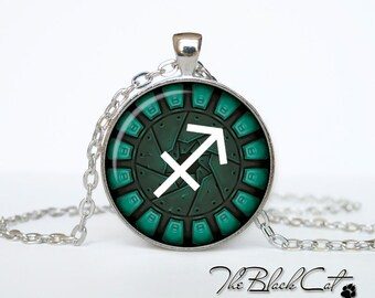 Sagittarius Pendant Sagittarius Necklace, Zodiac Sign Pendant, Constellation Jewelry