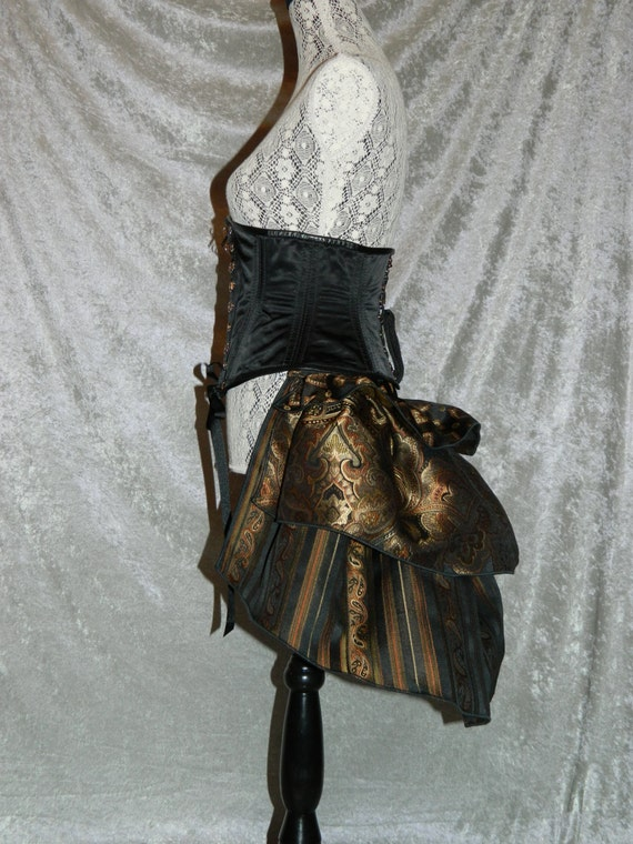Long Steampunk Bustle