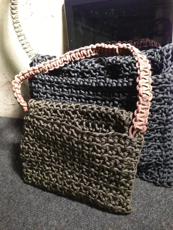 Items similar to ipad cases made from paracord 550 cord for How to make a paracord bag