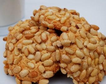 Italian Pignoli Cookies / Almond Pine Nut Cookies