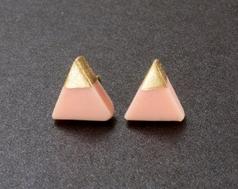 Powder Pink triangles