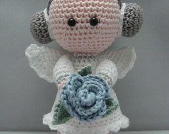 Flower Angel (Instant download Amigurumi doll crochet pattern pdf)