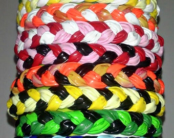 Duct Tape Braided Bracelets (Set of 2)