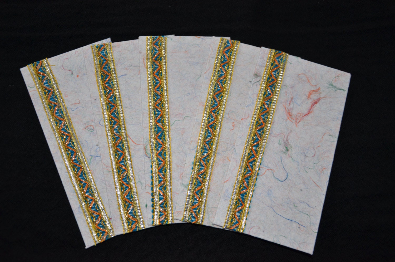 Handmade Money Holder Set Shagan Envelope Indian Wedding