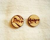 Deer Collection: Love & Dance Earrings