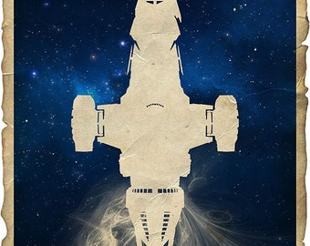 03-FF Firefly Serenity Poster Print