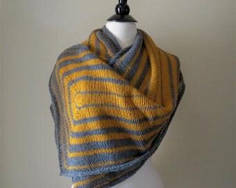 Diffraction - Rectangular Knitted Shawl Pattern .pdf