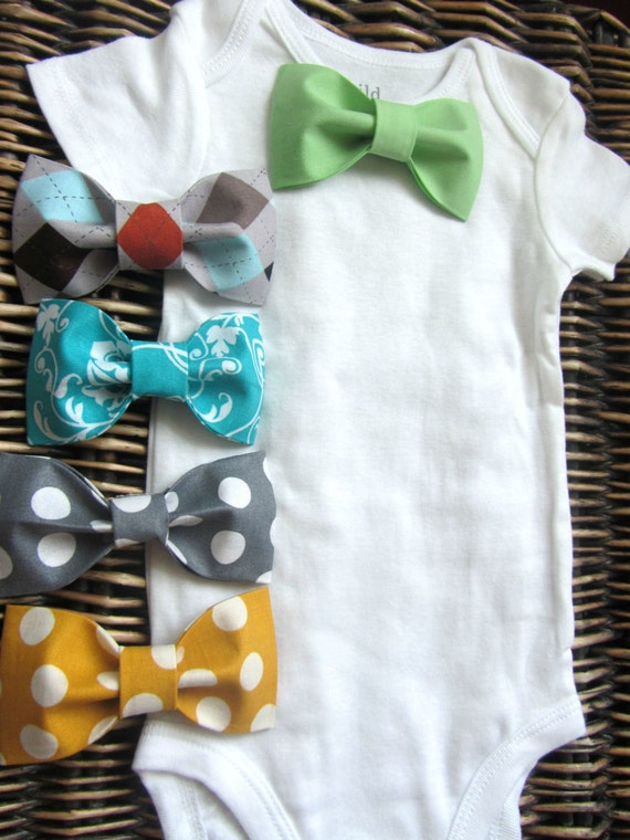 baby boy clothes bow tie onesie coming home by sewlovedbaby