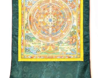 Shakyamuni Mandala - Beautiful Tibetan Buddhist Thangka painting