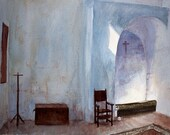 Monastic Calling original painting 16 x 12