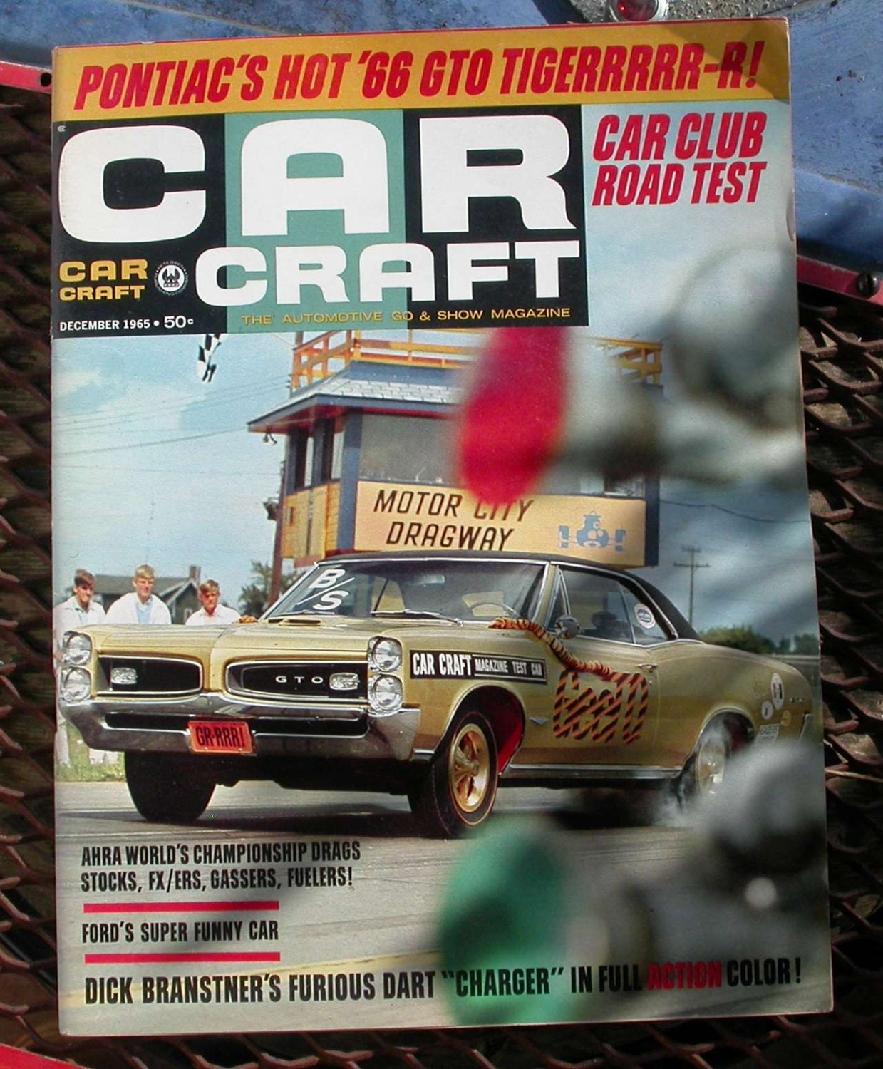 December 1965 car craft magazine vintage cars hot rods for Car craft magazine back issues