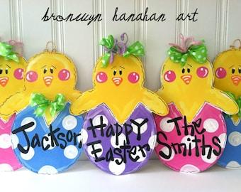 Little Chicks Door Hangers - Bronwyn Hanahan Art