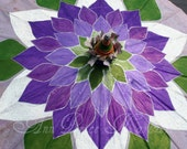 Parasol Purple Lotus Flower