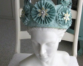 Handmade Paper Crown for Princess or Queen