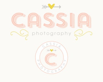 Premade Modern Logo and Watermark Perfect For Branding Your Business