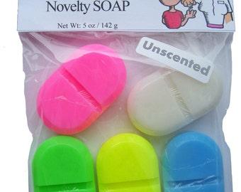 Pill Novelty Soap Favor Nurse Caregiver Hospital Nursing LPN RN Aide Medicine RX Funny Gag Gift Handmade