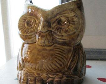 VINTAGE OWL VASE