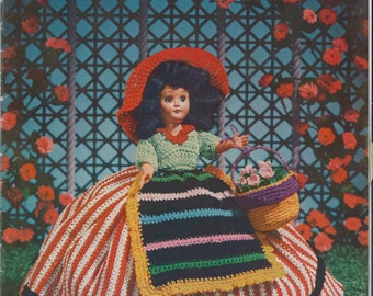 1950's Dolls of America Book No. 284 Crochet Book EXCELLENT Condition
