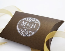 """Clear Stickers, 2"""" round - 48 personalized wedding favor stickers, packaging labels - custom transparent decals"""