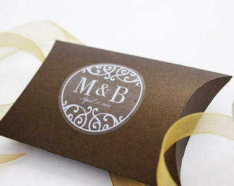 Custom Stickers Personalized Floral Wedding Favor - Custom stickers and labels