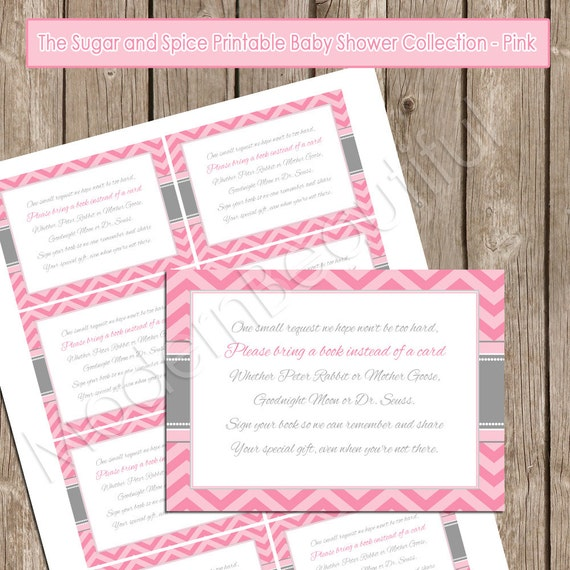 Baby Shower Books Instead Of Cards Invitation Wording was perfect invitation example