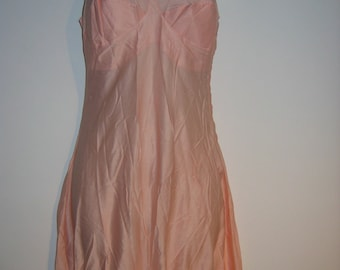 All in one, Step in Chemise, Bloomers, Panties.  Vintage Lingerie, 1920.  Van Raalte Singlette.  Size 36. Pin up.  Peach.