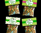INSTANT DOWNLOAD - Printable St. Patrick's Treat Bag Toppers  - Lucky You're My Friend -  Boy & Girl