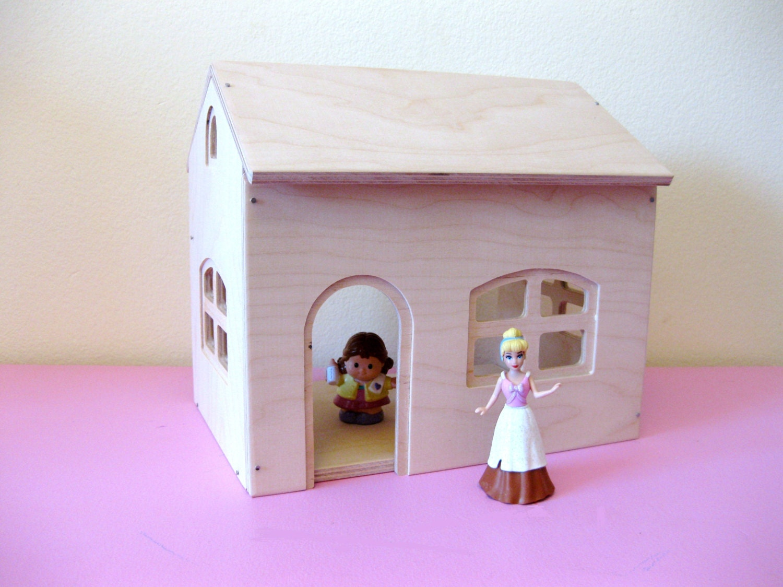 Dollhouse cottage playset kit for Kit di cabina e cottage