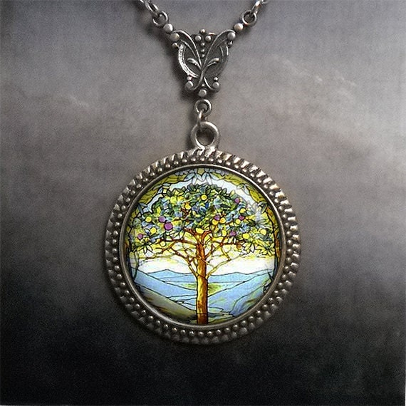 Starlord Tree Of Life Necklace & Pendant 316L Stainless