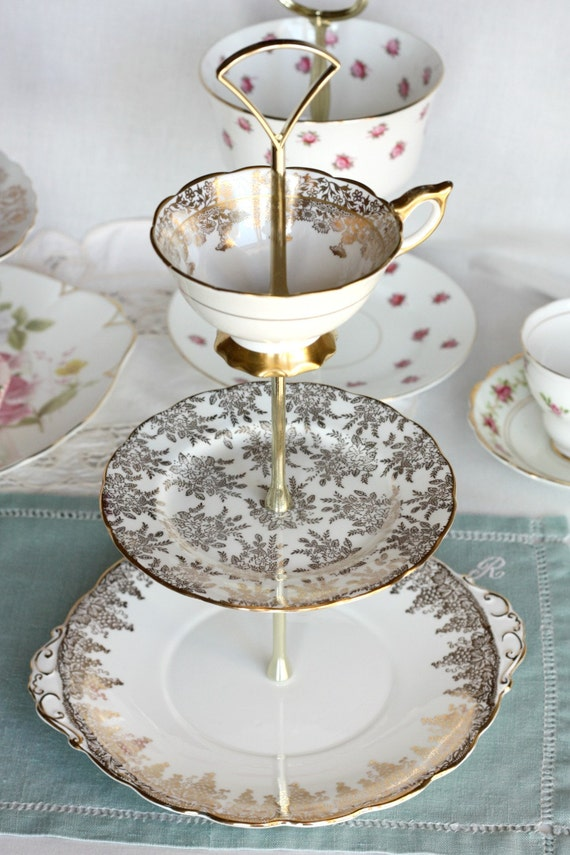 wedding cake stand elegant 3 tier cake stand cupcake display white and gold 25613