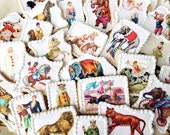 Victorian CIRCUS Wafer Papers for Cookies -- Edible Vintage Animal Images