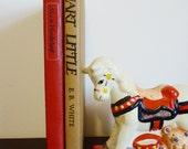 Vintage Alice in Wonderland and Stuart Little Books
