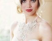 Electra - Crystal Starburst Tulle Neckpiece