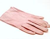 Vintage Kid Leather Gloves, Small