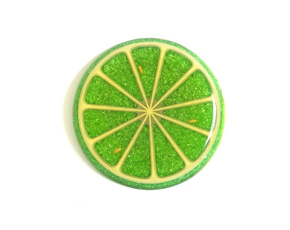 Lucite Lime Trivet Plastic Fantastic at stonesoupology on Etsy