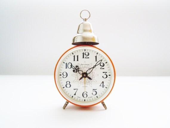 JANTAR BELL Vintage Soviet Russian Alarm Clock