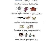 La Biblioteca Rap Print - Hand-Illustrated