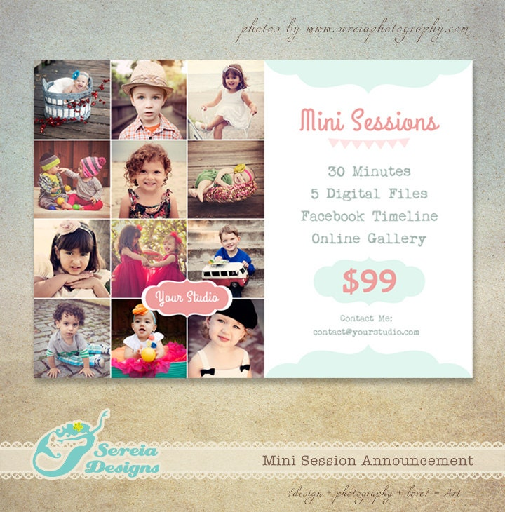 Free Photography Flyer Psd Templates: Spring Easter Marketing Board Flyer Photoshop PSD Template