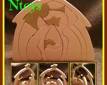 17 Piece Christmas Nativity set