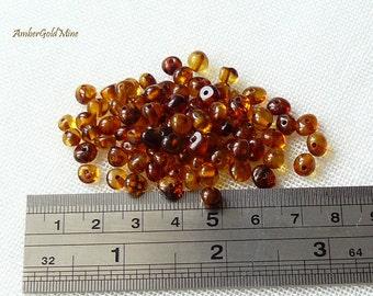 30 pcs Baltic Amber Loose Natural Baltic Amber Beads