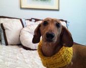 SALE!!! (Was 10.00) - Doggy Duds, Infinity Cowl Doggy Scarf Neck Warmer for Daschund, weiner dog, small dog.