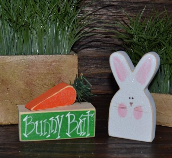 wood easter bunny 1