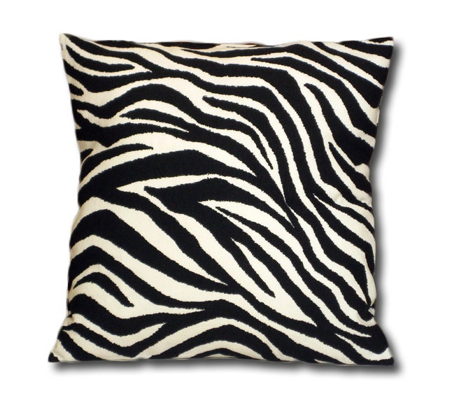 Animal Print Euro Pillow Shams : Request a custom order and have something made just for you.