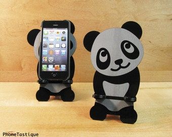 Adorable Panda iPhone Stand Docking Station For iPhone Dock for 4, 4S or 5