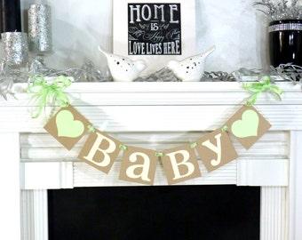 Baby Banner / Baby Shower / Nursery Sign / Gender Neutral / Little One / Newborn / Rustic Baby Decor / Nursery Sign