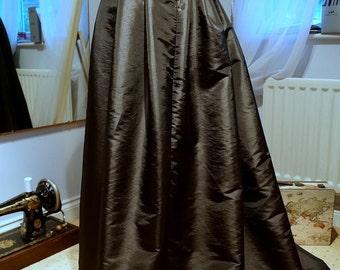 Steampunk Skirt, Josephine Victorian Underskirt, Bustle Skirt, Victorian Costume, Ball Gown, Goth Skirt