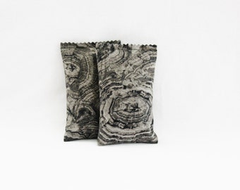 Second Anniversary Gift for Men - Tree Ring Balsam Sachets - Cotton Gift for Him