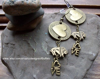 Buffalove Earrings