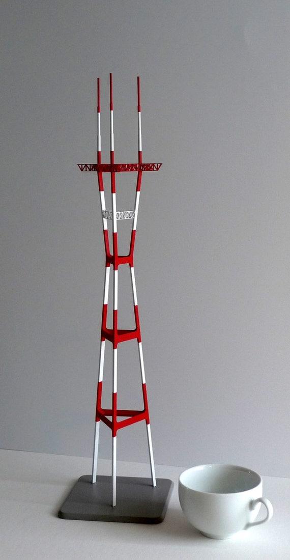 Sutro Tower, Detailed Brass